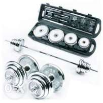 50kg Barbell with case (Port Harcourt )