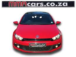 2009 VW SCIROCCO 2.0 TSI SPORTLINE DSG fully loaded R194,890.00