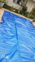 Solar swimming pool cover welding