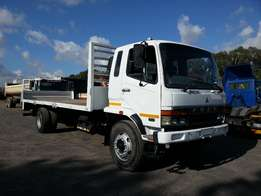 2009 Fuso 14-257 with drop sides