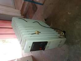 Old oil heater for sale