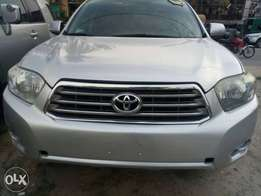 Toyota highlander 2009 full option key entry
