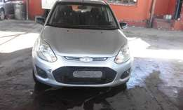Ford figo 1.4 silver in color 2014 model 18000km R87000
