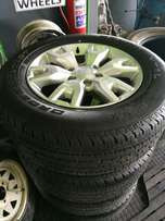 18 inch Ford Ranger Wheel and Brand New tyres