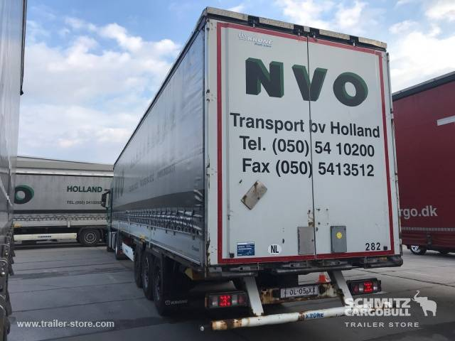 Krone Curtainsider dropside - 2013