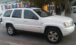 2003 Jeep Grand Cherokee 2.7 CRD Limited 4×4 Automatic kms 186000