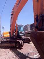 earth moving machines for hire