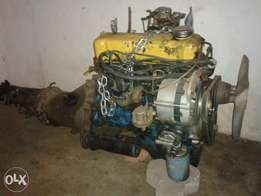 Datsun 1400 engine & gearbox