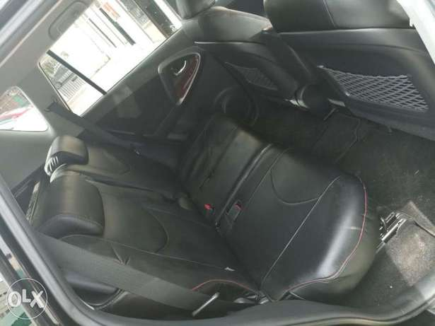 2010 model of Black Rav 4 with dark interior KCP number Mombasa Island - image 8