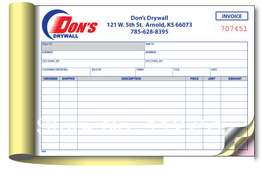Need to print invoices receipts or delivery books call us