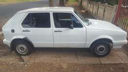 For sale, vw golf 2002