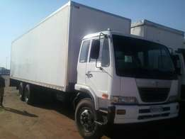 Nissan UD90 12T Closed Body Truck For Sale