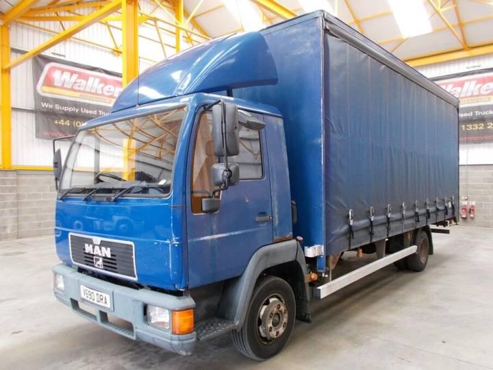 MAN 8.163 7.5 TONNE CURTAINSIDER - 2000 - V690 DRA - 2000