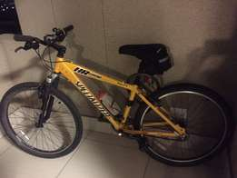 Specialized MTB with accessories