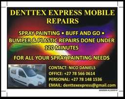 Mobile Spray Paint services