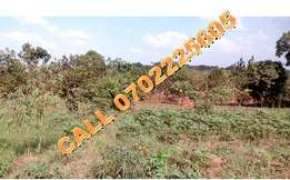 2 Commercial acres for sale in Kasangati-Kiti at 100m each