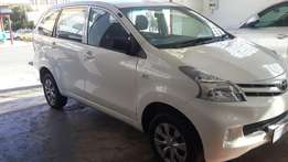 2014 Toyota Avanza 1.5 SX Available for Sale