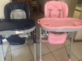 2x baby/toddler high chairs