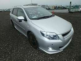 Toyota Fielder 2009 Ex Japan Fully Loaded Silver On Offer 1,350,000/=