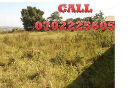 Roadside acre for sale in Bweyogerere at 290m