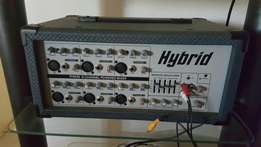 Hybrid 6 channel amp mixer for sale.