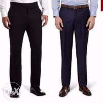 2n1 Men's Executive suit trousers- black and Navy blue