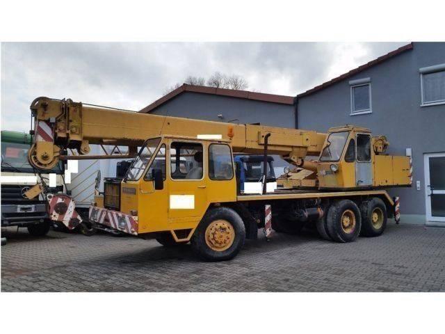 Liebherr LT1025-25t-Allrad 33 m 2x Seilwinde Kranwagen - 1975
