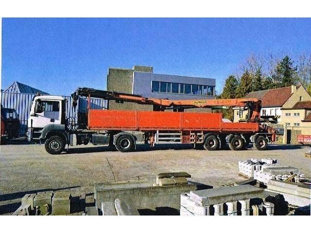 MAN 18,400 BLS WB 3M900 4x4 Hydrodrive - 2008