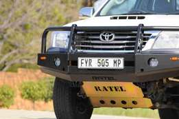 Hilux 2008 to 2012 model Front replacement bumper