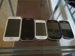 5 cell phones for sale