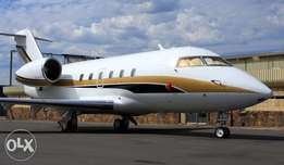 Bombardier Private jet