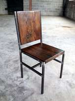 Industrial Bistro Chairs !! Order today. Call House of Chairs.
