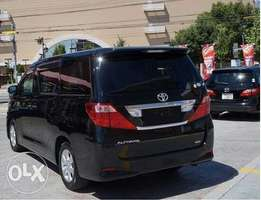 Toyota Alphard with Special Seats