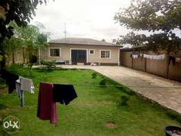 Newly built bungalow New 4 Bedroom Bungalow Setback On A plot of land