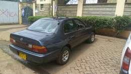 Toyota 100 in good condition.