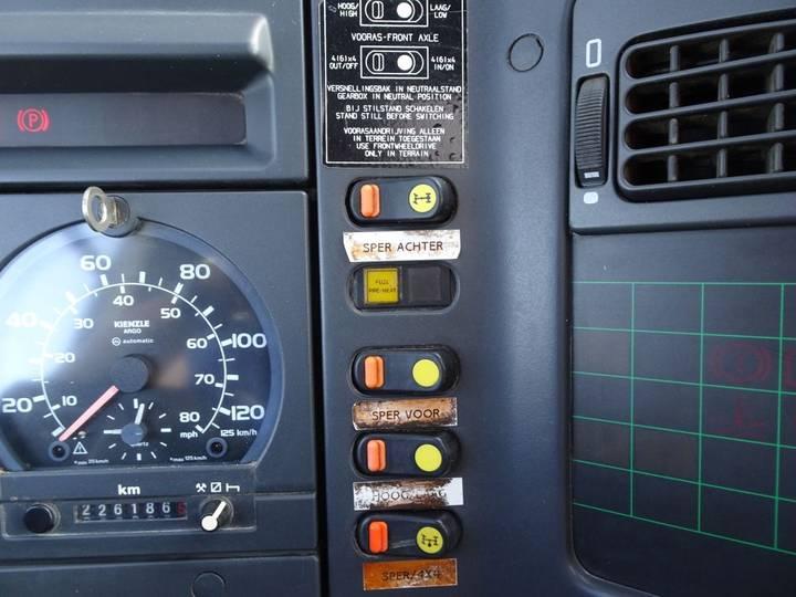 DAF CF 65.180 4X4 / 3 SIDE TIPPER / CRANE / MANUAL - 1995 - image 9