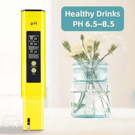 pH meter automatic calibration