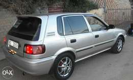 Who is selling a Toyota Tazz around KZN Durban? I need it