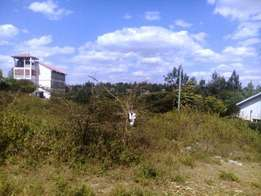 Quarter acre for sale in Rongai Town