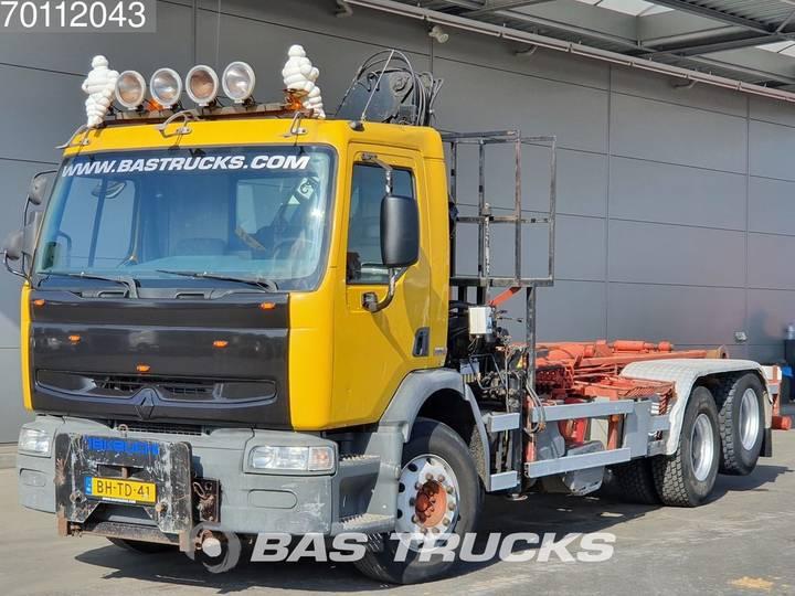 Renault Premium 300 6X2 Manual Big-Axle Liftachse Euro 2 Hiab 122 - 1999