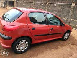 Used Peugeot 206 '06 Model Red For Sale
