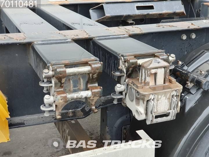 Krone 2x20-1x30-1x40ft. 3 axles Ausziehbar Extending Chassis - 2012 - image 7