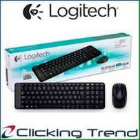 Logiteck wireless keyboard and mouse