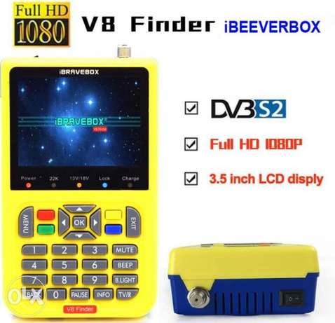 iBRAVEBOX V8-Finder HD frome freesat