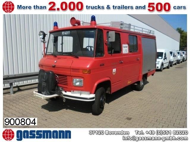 mercedes-benz lf 409 4x2 löschwagen, benziner! - 1980