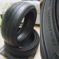 "Dunlop 165/50/15"" Stretch tyres"