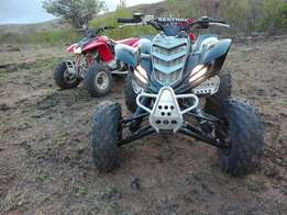 Yamaha raptor 660R Gytr edition quad bike