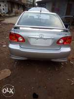 Tokunbo Accident Free 2004 Toyota Corolla Sport