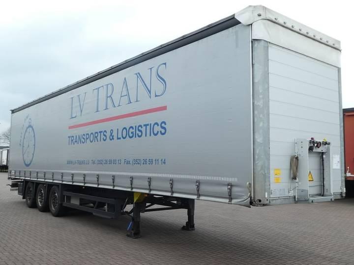 Schmitz Cargobull SCS24/L13.62 PAPER X lift axle - 2016