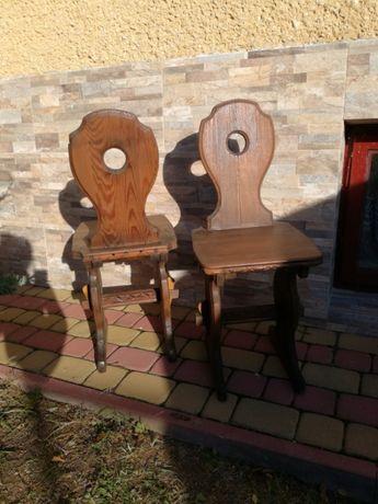 2 Krzesła Góralskie Drewniane Do Kuchni Kielce Olxpl